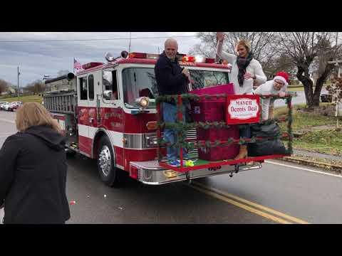 Video: Church Hill Christmas Parade Dec. 1, 2018