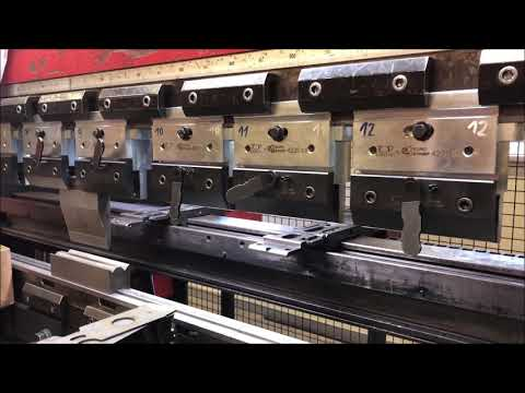 CNC Hydraulic Press Brake AMADA HFE 100-3 2004