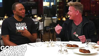 Video Gordon Ramsay Judges Steaks Cooked By NBA Legends Shawn Marion & Caron Butler! | Raising the Steaks MP3, 3GP, MP4, WEBM, AVI, FLV Januari 2019