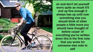 Note to Self Lyrics - Ben Rector