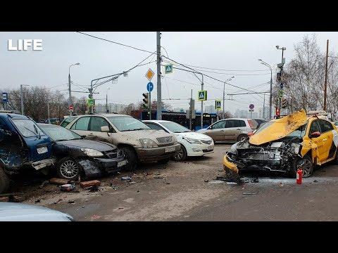 Sükan arxasında epilepsiya oldu, beş avtomobili əzdi – VİDEO