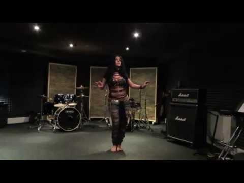 "Diana Bastet Metal Belly Dance. AC/DC ""Thunderstruck"""