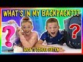 Download Lagu WHAT'S IN MY BACKPACK? | BACK TO SCHOOL EDITION | We Are The Davises Mp3 Free