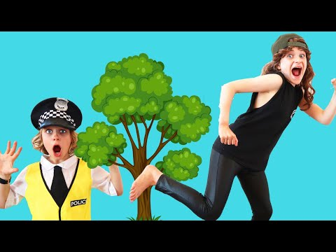 Biggy The Police Man Catches Bad Bob And Takes Him To Jail | Pretend Play With The Norris Nuts