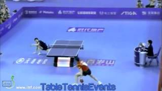 Xu Xin Vs Jun Mizutani: 1/2 Final [World Team Classic 2013]