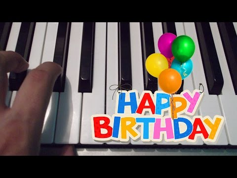 Feliz Cumpleaños / Happy Birthday / Piano Tutorial / Notas Musicales