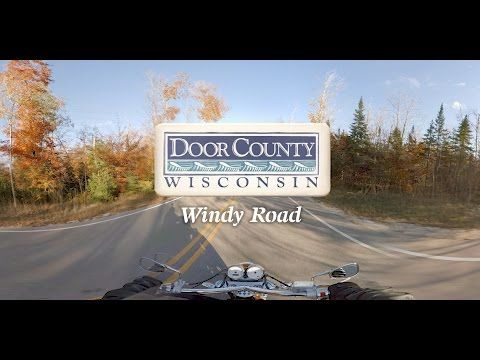 Motorcycle Ride on Windy Road