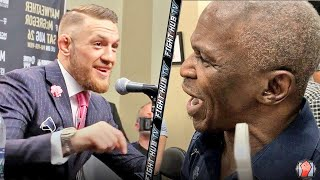 Video MAYWEATHER SR EXPLODES ON MCGREGOR! SHOWS SPEED & CONOR LAUGHS AT HIM! MP3, 3GP, MP4, WEBM, AVI, FLV Desember 2018