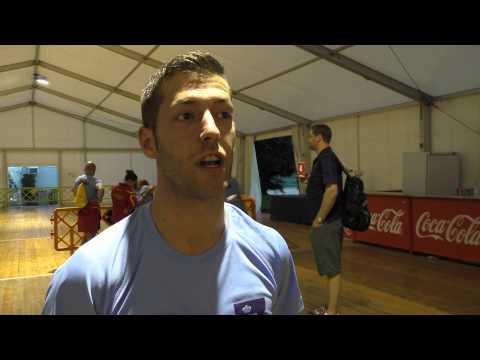 Entrevista a David Mariano en el Mundial de Reus