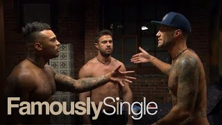 "Chad Johnson gets dragged into David McIntosh and Calum's beef on ""Famously Single""! Will they come to blows? Watch.SUBSCRIBE: http://bit.ly/EentsubAbout Famously Single:Famously Single features eight single celebrities who have been infamously unlucky in love gathering under one roof to learn how to (finally) pick the right match. Eight celebrities move into a downtown LA loft, where they take part in exercises, therapy sessions and real dates to find the real love they've lacked until now.  Connect with the Famously Single:Visit the Famously Single WEBSITE: http://www.eonline.com/shows/famously_single  Like Famously Single on FACEBOOK: https://www.facebook.com/famouslysingleone/ Follow Famously Single on TWITTER: https://twitter.com/FamouslySingleFollow Famously Single on Instagram: https://www.instagram.com/famously_single/ About E! Entertainment:E! is on the Pulse of Pop Culture, bringing fans the very best original content including reality series, scripted programming, exclusive specials, breaking entertainment news, streaming events and more. Passionate viewers can't get enough of our Pop Culture hits including ""Keeping Up with the Kardashians,"" ""Fashion Police,"" ""The Royals,"" ""Total Divas"" and ""Botched."" And with new original programming on the way, fans have even more to love.Connect with E! Entertainment:Visit the E! Website: http://eonli.ne/1iX6d8n Like E! on FACEBOOK: http://eonli.ne/facebookCheck out E! on INSTAGRAM: http://eonli.ne/IGFollow E! on TWITTER: http://eonli.ne/twitterFollow E! on Spotify: http://eonli.ne/spotifyCalum Best Feels Outnumbered on ""Famously Single""  E!http://www.youtube.com/user/Eentertainment"