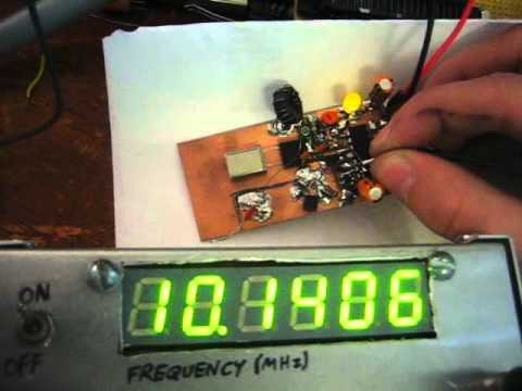 cheap frequency counter for amateur radio