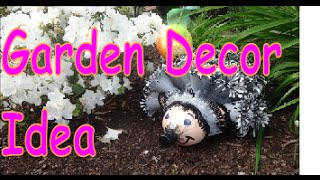 DIY Crafts: Hedgehog Garden Decor from Recycled Plastic Bottles - YouTube