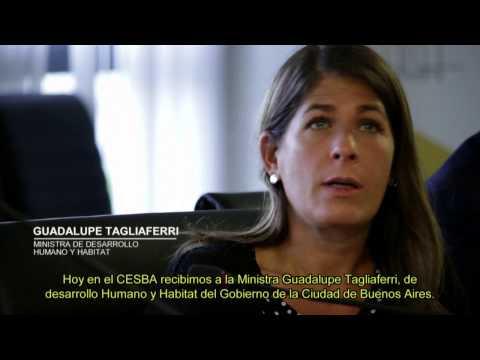 EL CESBA RECIBIÓ A LA MINISTRA DE DESARROLLO HUMANO Y HÁBITAT