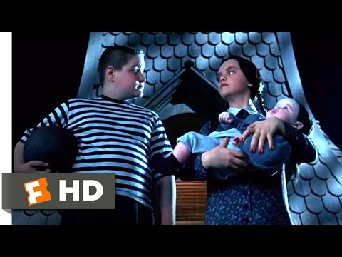Addams Family Values (1993) - Which One Will Bounce? Scene (2/10) | Movieclips
