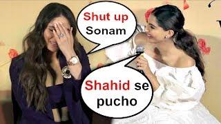 Video Kareena Kapoor SHOCKING Reaction When Sonam Kapoor Takes Shahid Kapoor Name MP3, 3GP, MP4, WEBM, AVI, FLV Oktober 2018