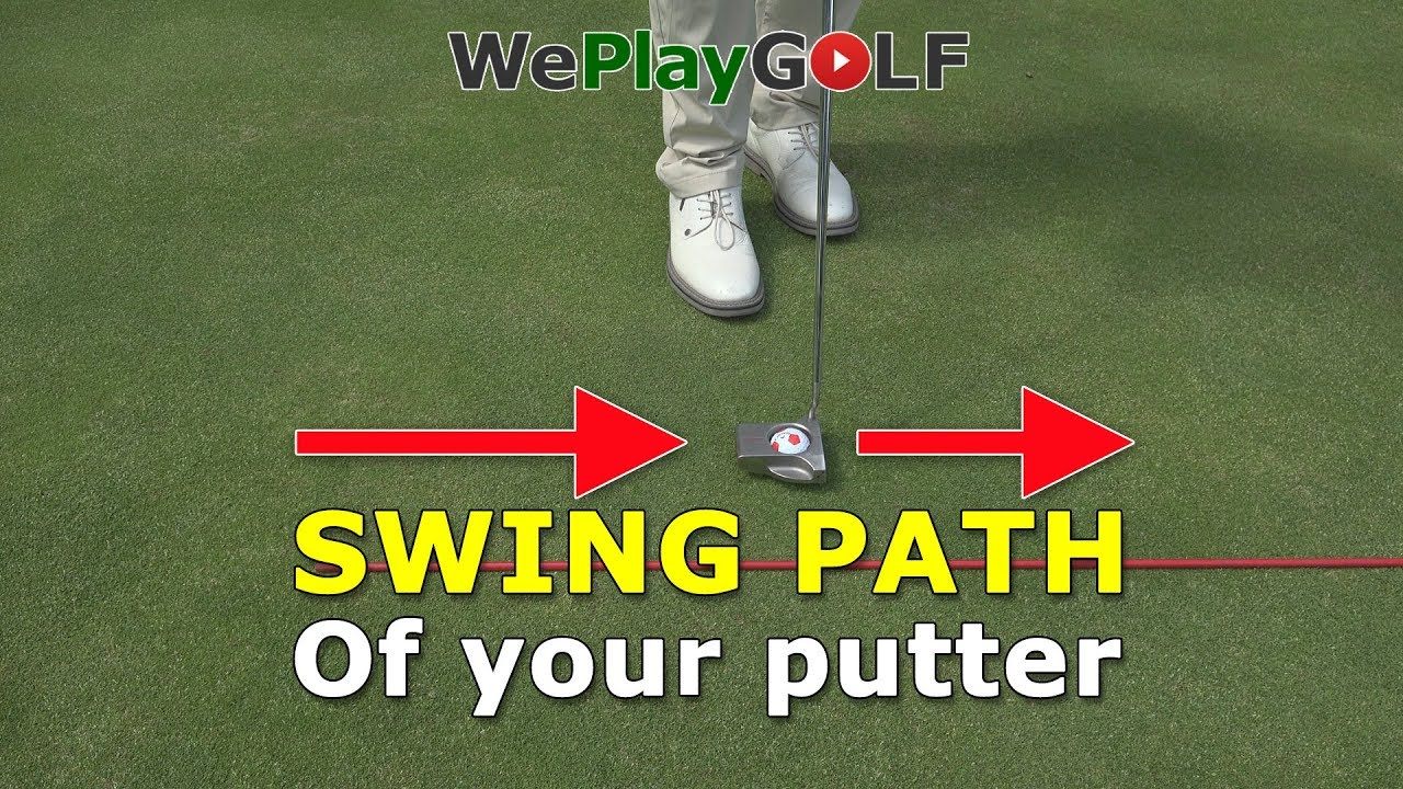 Check the swingpath of your putter. Make less putts in your golf round