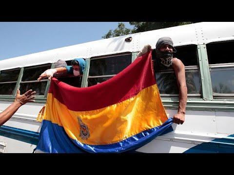 Νικαράγουα: Απελευθερώθηκαν οι διαδηλωτές φοιτητές με μεσολάβηση της καθολικής Εκκλησίας…