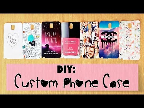 DIY: Custom Phone Case