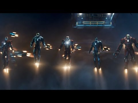 Iron Man 3 -- Official Trailer UK Marvel | HD (видео)
