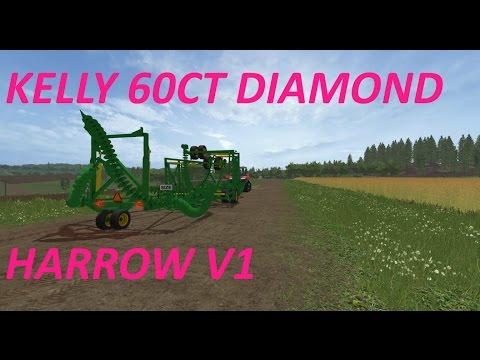 Kelly 60CT Diamond Harrow v1