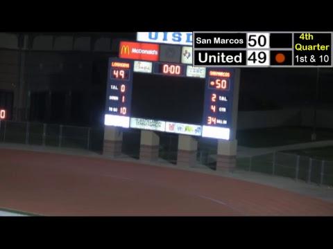 2nd half Laredo United vs. San Marcos