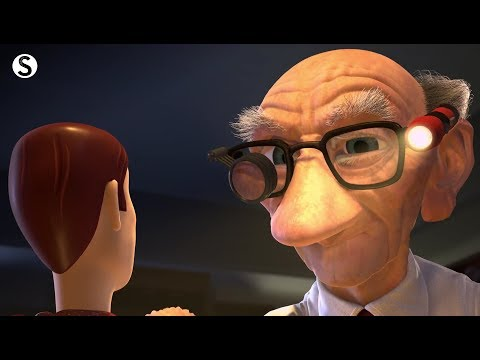 Toy Story 2 Fixing Woody Scene