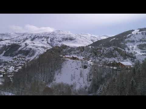 Paysages vus de drone