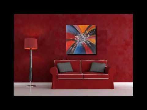 Cuadros abstractos videos videos - Bimago cuadros modernos ...