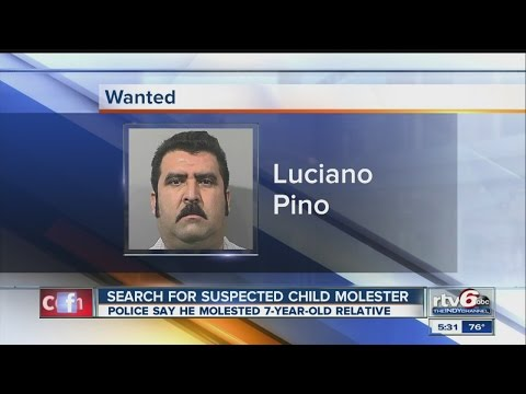 Police plea for help finding accused child molester