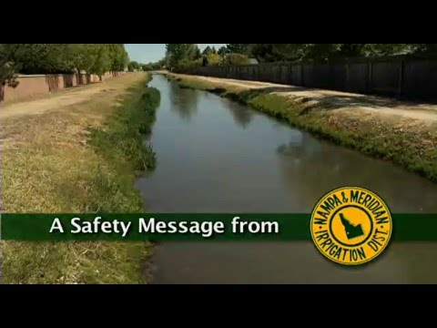 Nampa & Meridian Irrigation District 2016 Canal Safety Video