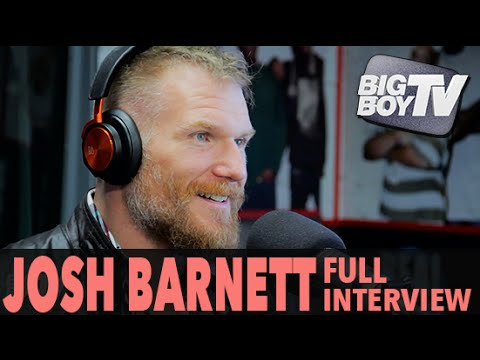 Josh Barnett on His UFC Fight vs. Ben Rothwell, Street Fights, And More! (Full Interview) | BigBoyTV