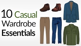 Video 10 Casual Wardrobe ESSENTIALS (For COLD Weather) | How To Dress Casually For Winter MP3, 3GP, MP4, WEBM, AVI, FLV Desember 2018