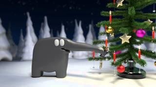 Tarjeta de Navidad para compartir. Christmas Animation Elefant Studios