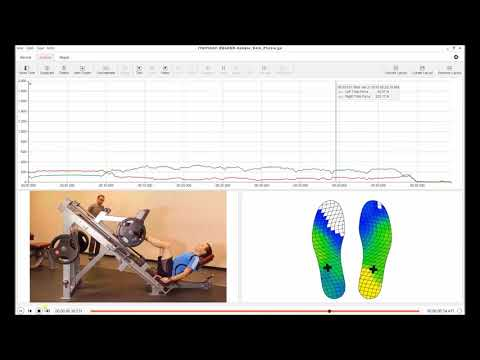 Wireless in-shoe pressure insoles: Strength Symmetry Report