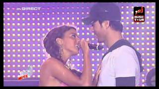 {HD]  Enrique Iglesias ft. Nadiya - Tired of being sorry LIVE NRJ Music Tour.