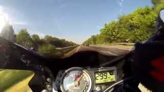 3. Suzuki GSXR 750 K4 K5 Akrapovic K&N top speed highspeed 299 kmh (186 mph)