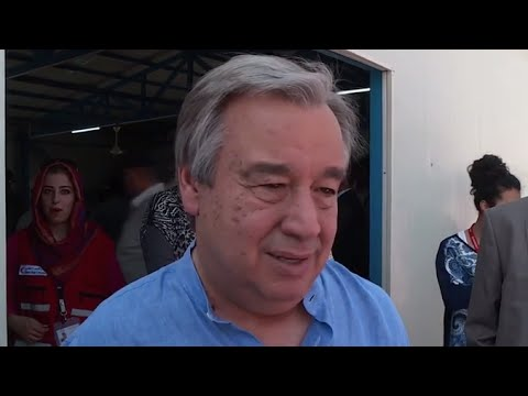 Iraq: High Commissioner visits Arbat camp