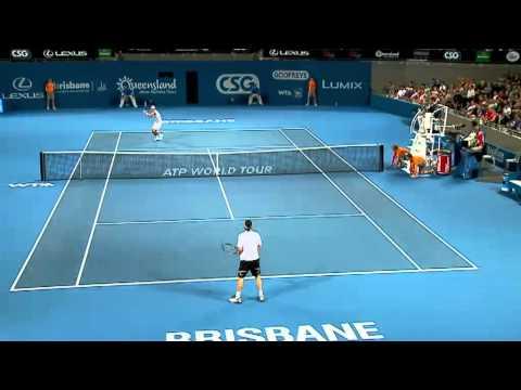 Baghdatis VS Kubot en Brisbane