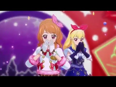 (HD)Aikatsu! -Luminas&Ichigo&Mizuki&Juri Hello! -[Winter Love♪]- Episode 165