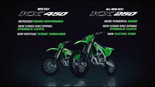 All-New 2021 KX250 & New KX450