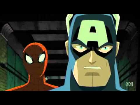 Avengers: Earth's Mightiest Heroes - Captain America & Spider-Man