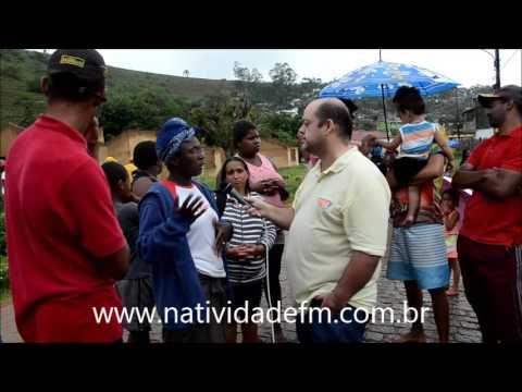 Famílias invadem conjunto habitacional inacabado em Natividade - PARTE 01
