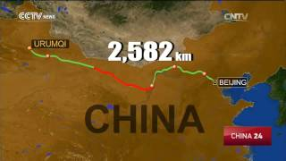 Bayannur China  city images : World's longest desert highway starts operation