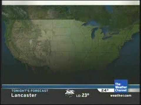 Major Weather Channel Blooper - part 2