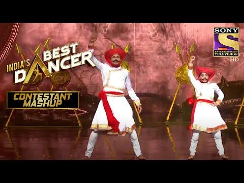 "Sonal और Tushar ने दिया ""Malhari"" पे Powerful Performance   India's Best Dancer   Contestant Mashup"