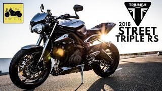 9. 2018 Triumph Street Triple RS Ride and Review | Through the California Sierra Foothills