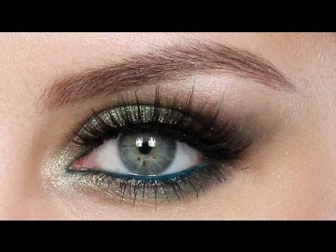 make up - occhi verdi magnetici!