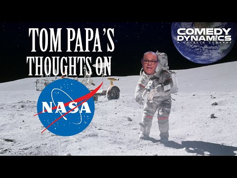Tom Papa - What NASA Needs To Do (Stand up Comedy)