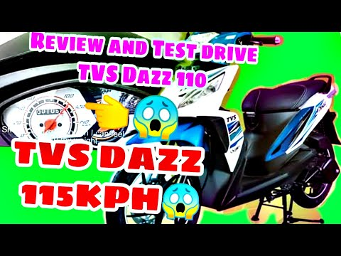 TVS DAZZ 110 | 115 KPH? | Review and Test Drive | DAZZ 110 2020 MODEL | Murang Motor!!