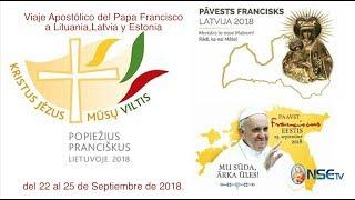 Oración ecuménica en la Catedral Luterana de Santa María y visita a la Catedral Católica de Santiago